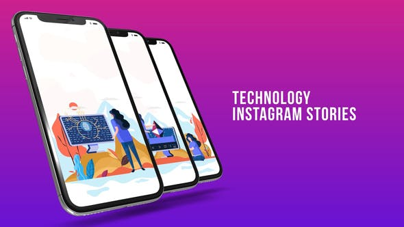 Thumbnail for Instagram Stories - Technology
