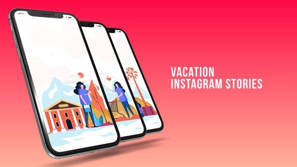 Thumbnail for Instagram Stories - Vacation