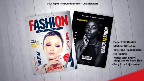 Thumbnail for Magazine Promo