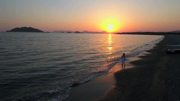 Thumbnail for Woman On Beach
