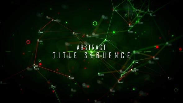Thumbnail for Titres abstraits colorés