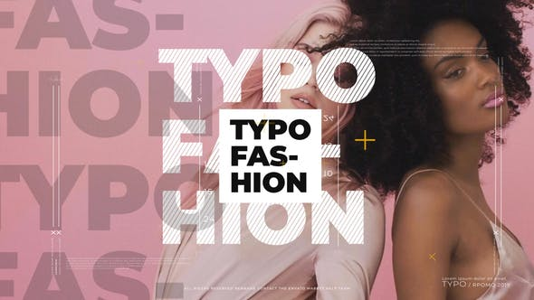 Thumbnail for Promo typographique Moderne