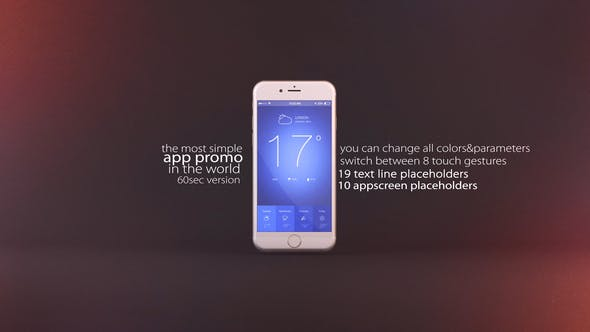 Thumbnail for Simple Mobile App Promo