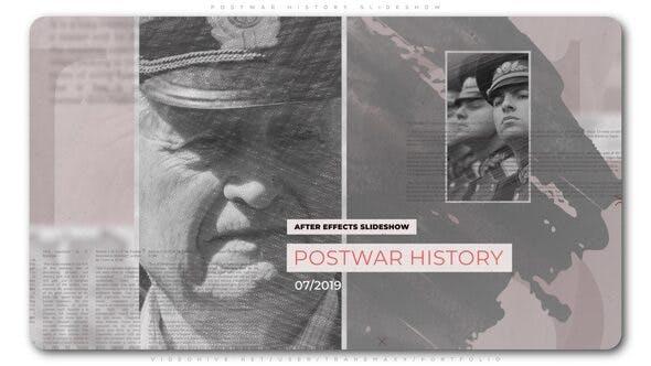 Cover Image for Postwar History Slideshow