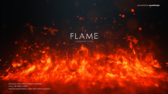 Thumbnail for FLAME Cinematic Titles