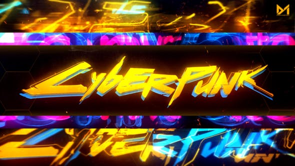 Thumbnail for Cyberpunk Logo reveal