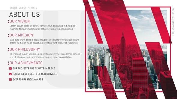 Modern Company Presentation