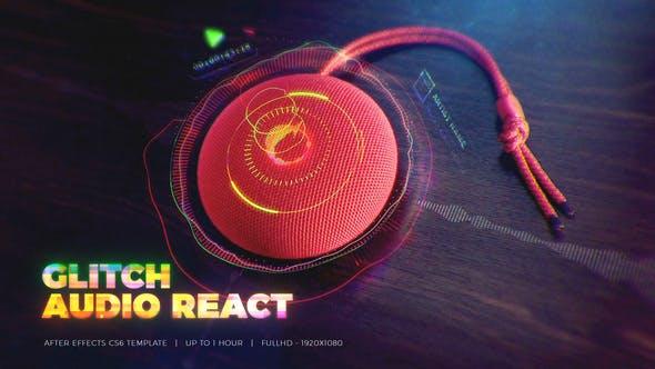 Thumbnail for Glitch Audio React