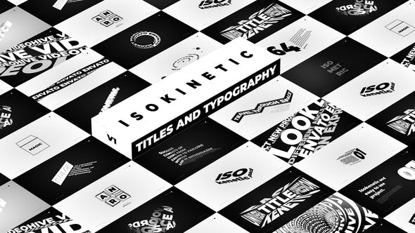 Thumbnail for Isokinetic - Titles And Typography