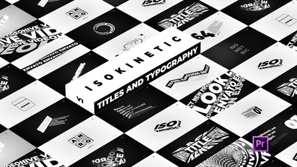 Thumbnail for Isokinétique - Titres Et Typographie