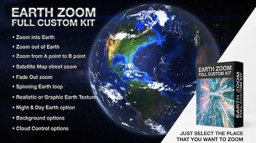 Earth Zoom Full Custom Kit