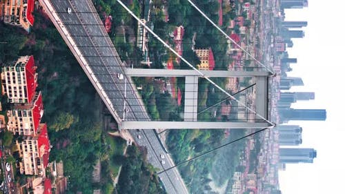 Bridge Above Bosphorus Istanbul