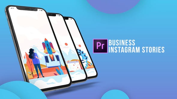 Thumbnail for Business - Instagram Stories (MOGRT)