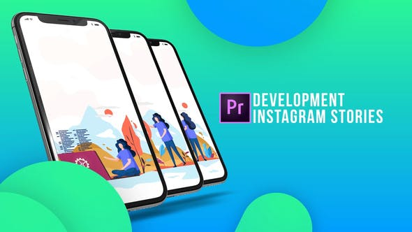 Thumbnail for Instagram Stories - Development (MOGRT)