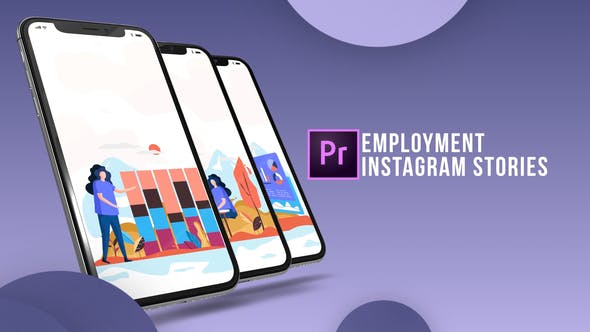 Thumbnail for Instagram Stories - Employment (MOGRT)