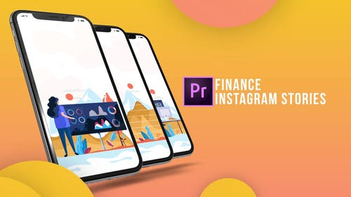 Instagram Stories - Finance (MOGRT)