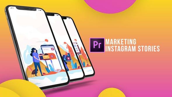 Instagram Stories - Marketing (MOGRT)