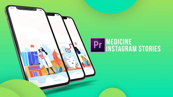 Thumbnail for Instagram Stories - Medicine (MOGRT)