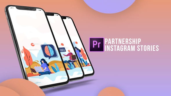 Thumbnail for Instagram Stories - Partnership (MOGRT)