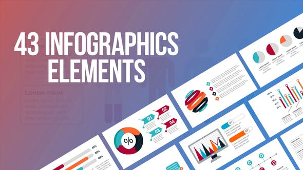 Thumbnail for Infographics - 43 Elements