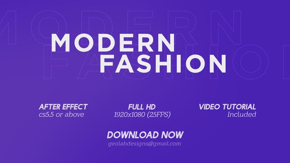 Cover Image for Modern Fashion