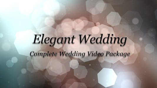 Thumbnail for Elegant Wedding Package