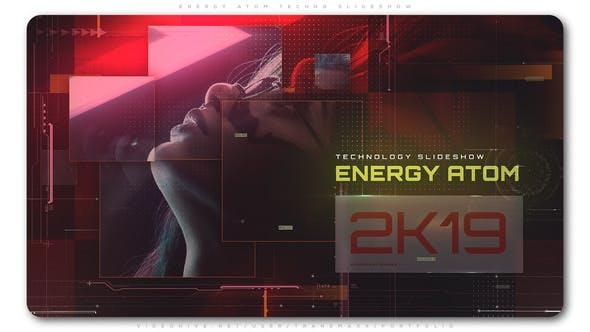 Energy Atom Techno Slideshow