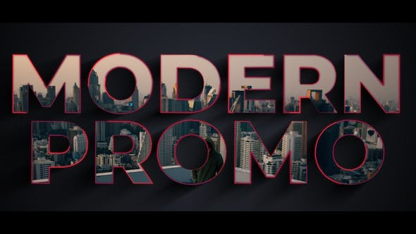 Thumbnail for Modern Typography Promo