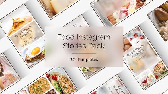 Food Instagram Stories