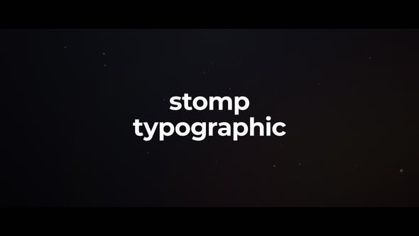 Thumbnail for Stomp Typography