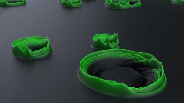 Black Green Background