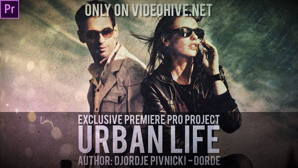 Thumbnail for Urban Life (Premiere Pro)