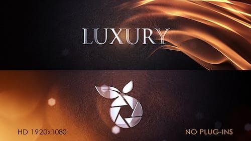 Luxury Logo Intro