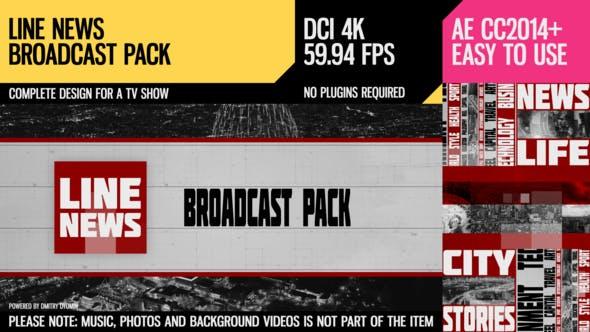 Line News (Broadcast Pack)