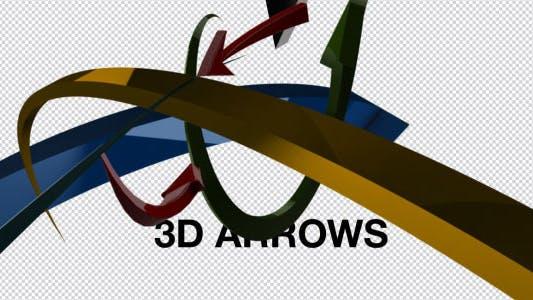 Thumbnail for 3D Arrow set