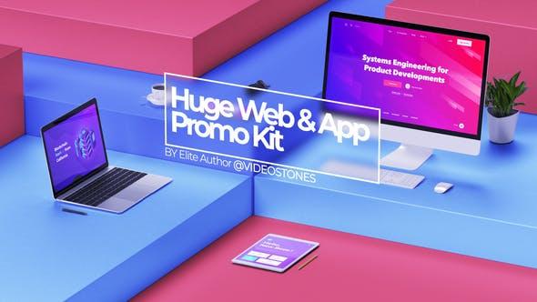 Thumbnail for Huge Web Promo & App Promo Kit