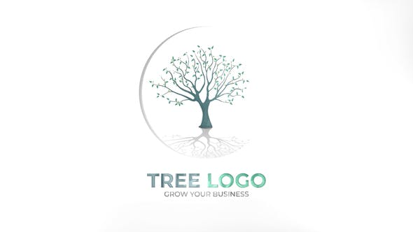 Thumbnail for Tree Logo | After Effects Template