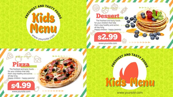 Thumbnail for Kids Menu