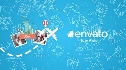 Travel Flight Logo