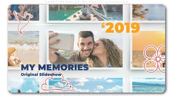 Thumbnail for Happy Memories Meine Familie Diashow