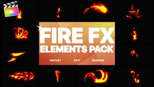 Flash FX Fire Elements   Final Cut