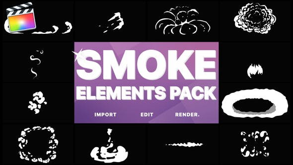 Cover Image for Flash FX Smoke Elements | FCPX