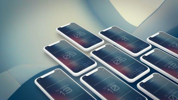 Thumbnail for Mobile App Promo | UI Prsentation v.2