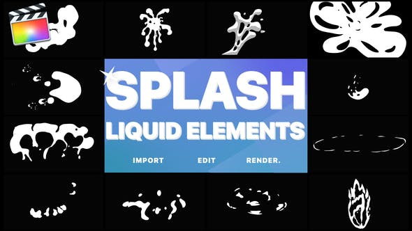 Thumbnail for Splash Elements | FCPX
