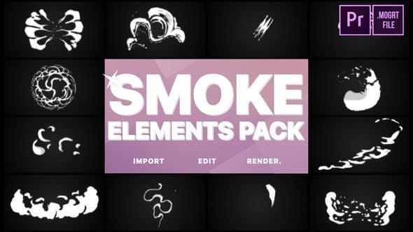 Thumbnail for Smoke Elements | Premiere Pro MOGRT