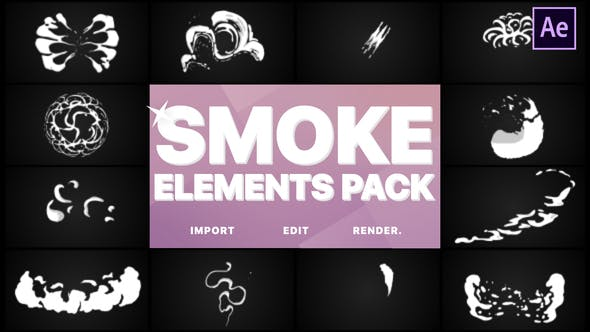 Thumbnail for Smoke Elements | After Effects
