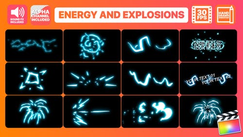 Energy And Explosion Elements | FCPX