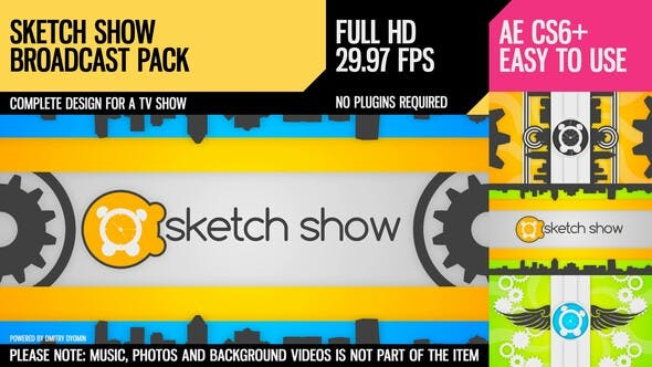 Thumbnail for Sketch Show (Broadcast Pack)