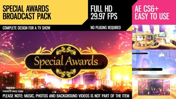 Thumbnail for Special Awards (Broadcast Pack)