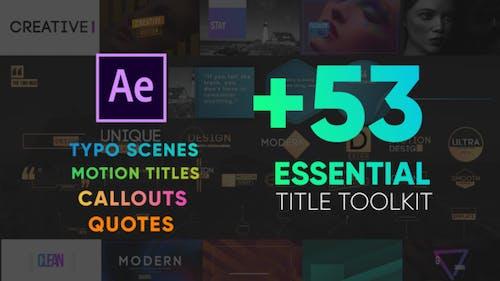 Essential Titles Toolkit